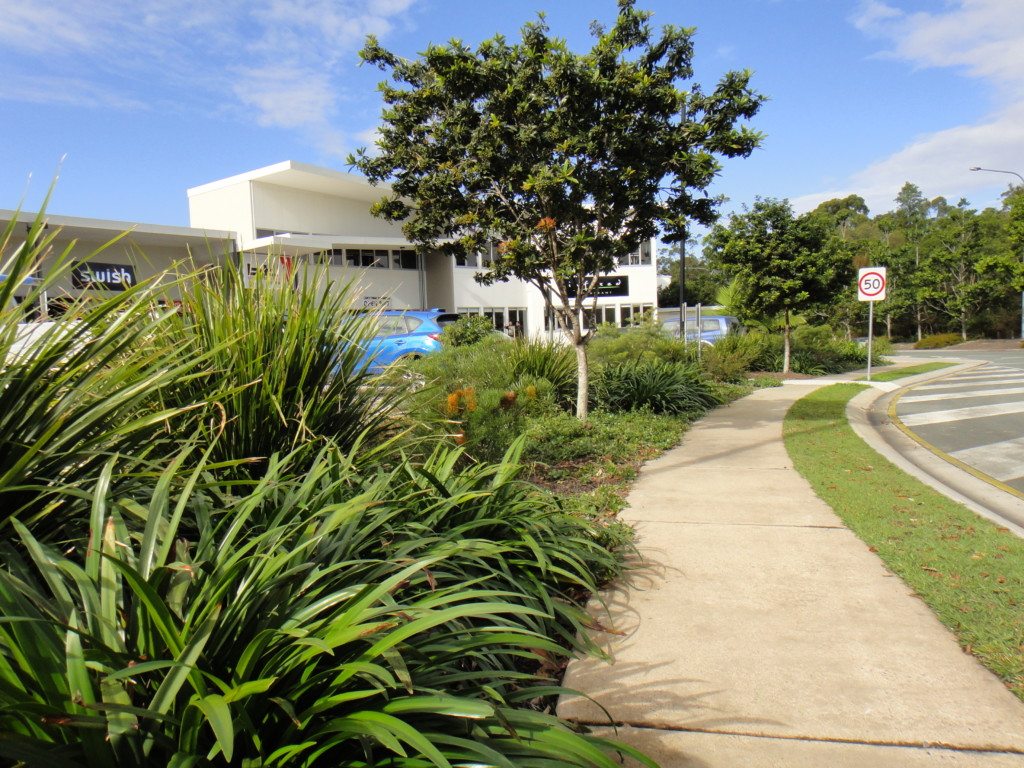 Commercial industrial landscape design sunshine coast for Landscaping rocks sunshine coast