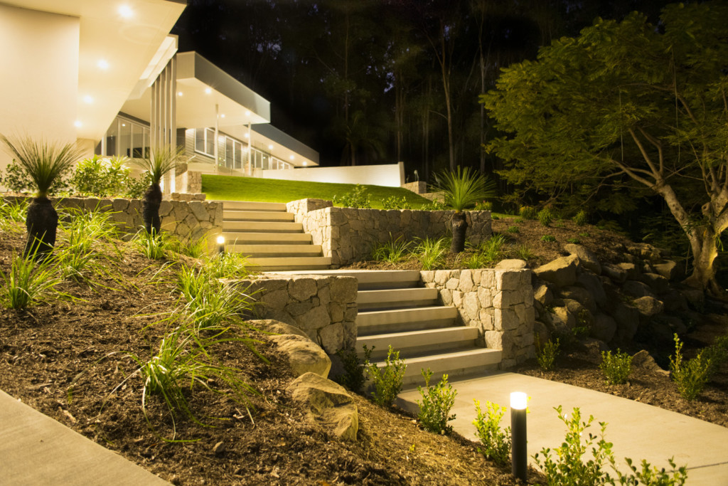 Residential gardens element design landscape architecture for Landscaping rocks sunshine coast